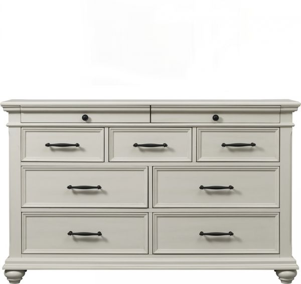 Slater White Dresser