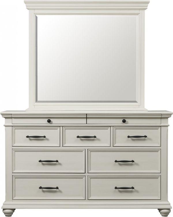 Slater White Mirror