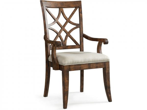 Nashville Wood Arm Chair