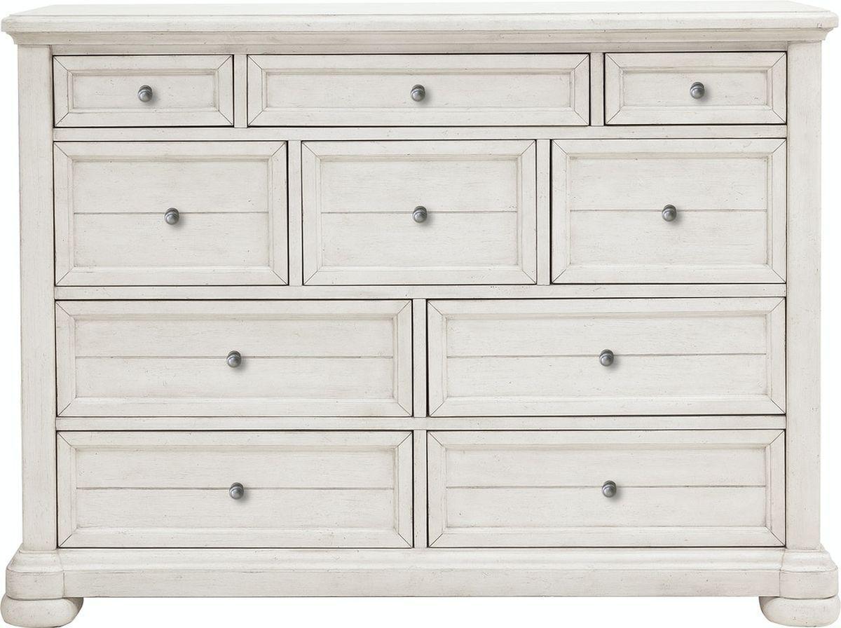 Nashville White Dresser