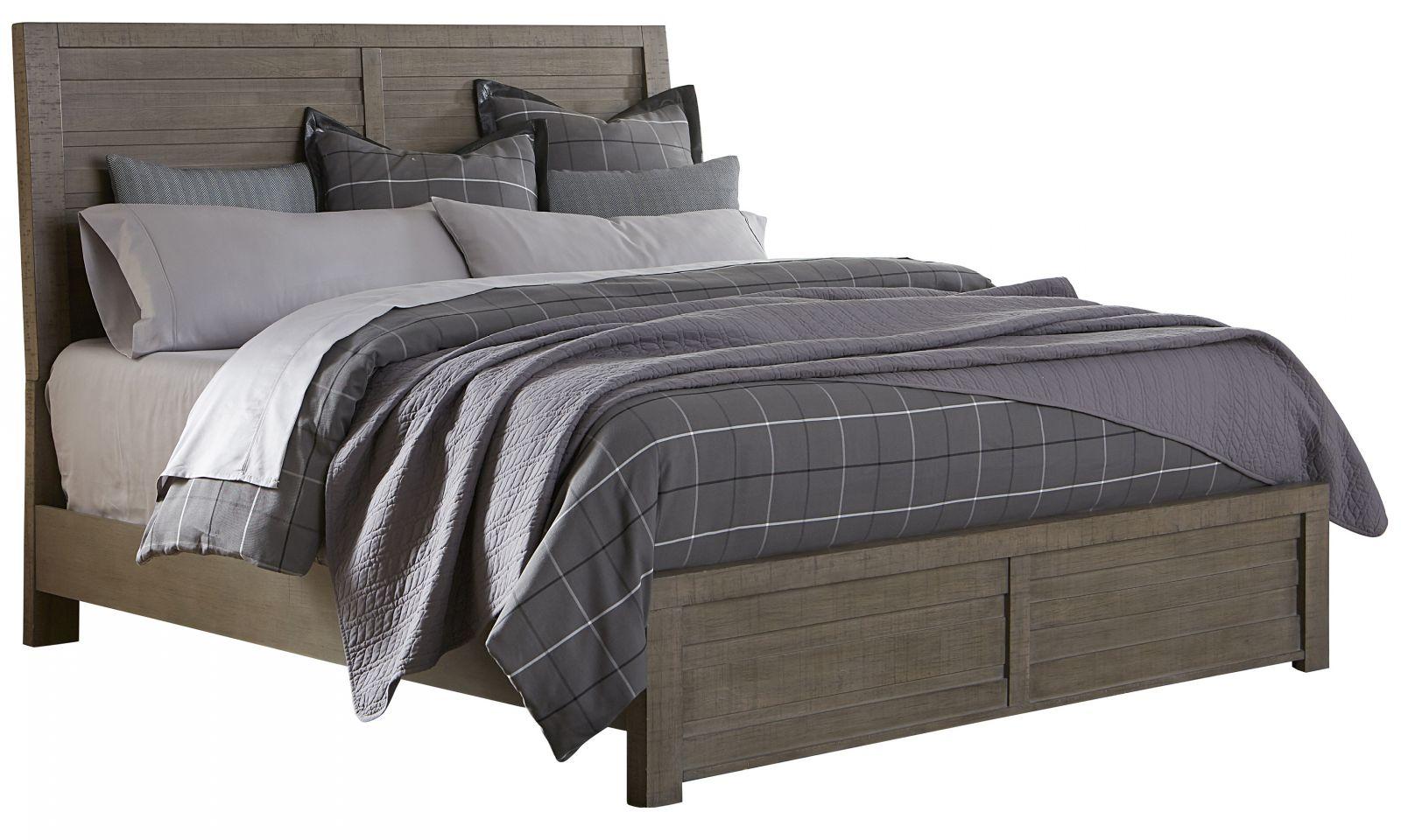 Soho Grey Queen Bed